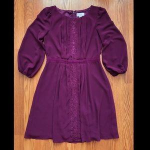 Beautiful Jessica Simpson Plum Purple Dress 6